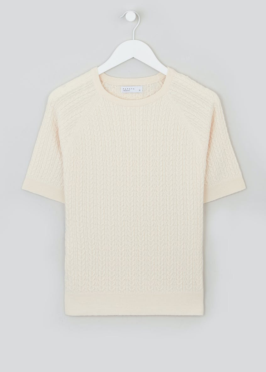 Baby Cable Knitted T-Shirt