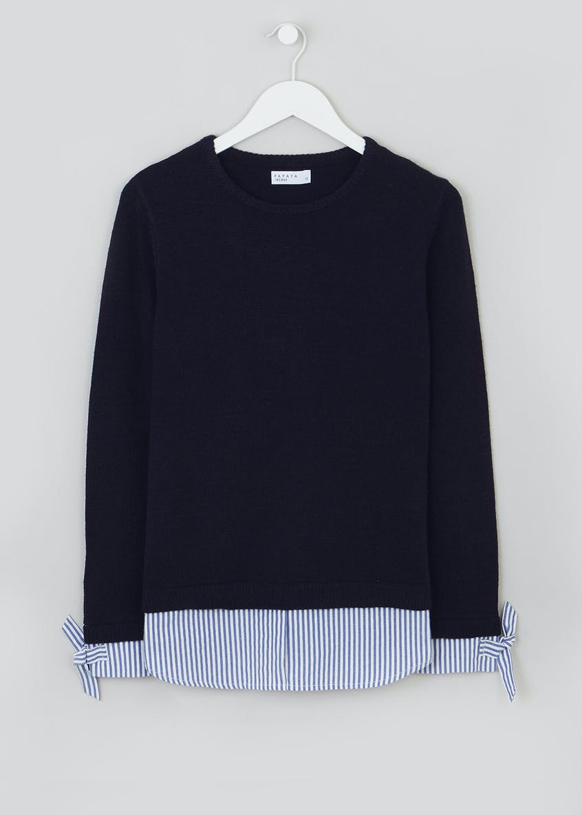 2 in 1 Shirt Jumper
