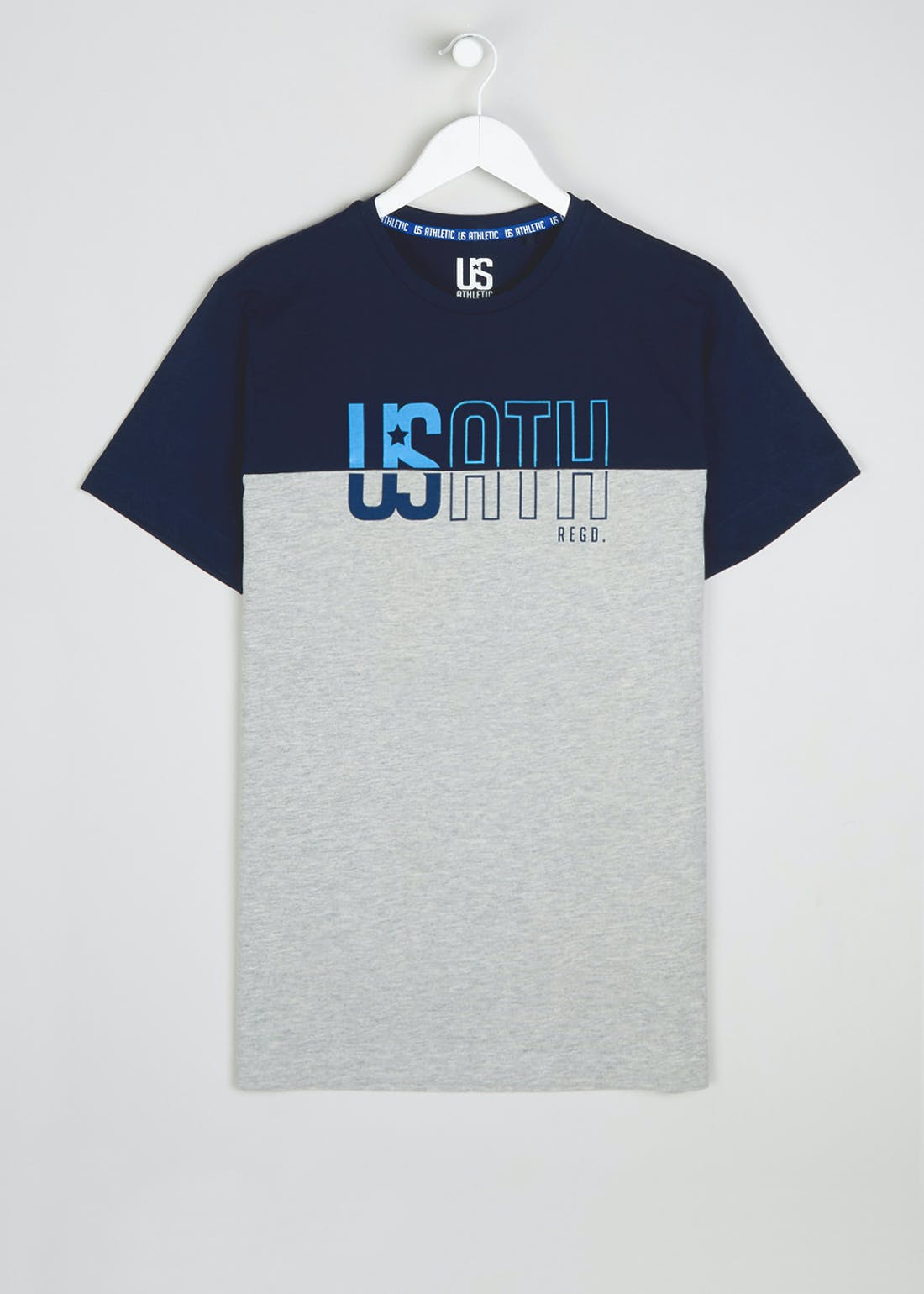 US Athletic Panel Logo T-Shirt
