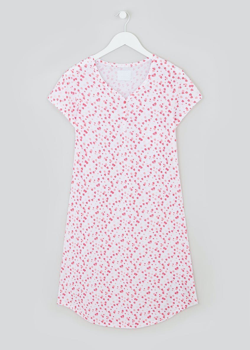Ditsy Floral Button Nightie
