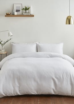 Silentnight Waffle Duvet Cover (180 Thread Count)