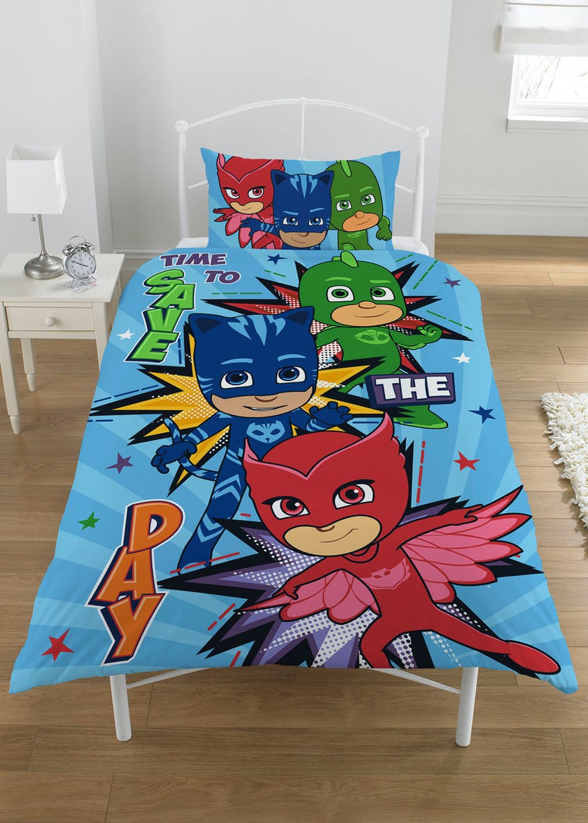 Kids PJ Masks Duvet Cover (Single)