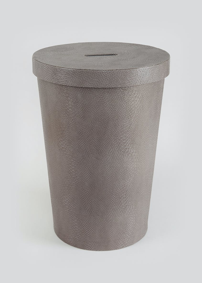 Faux Leather Laundry Bin (56cm x 40cm)