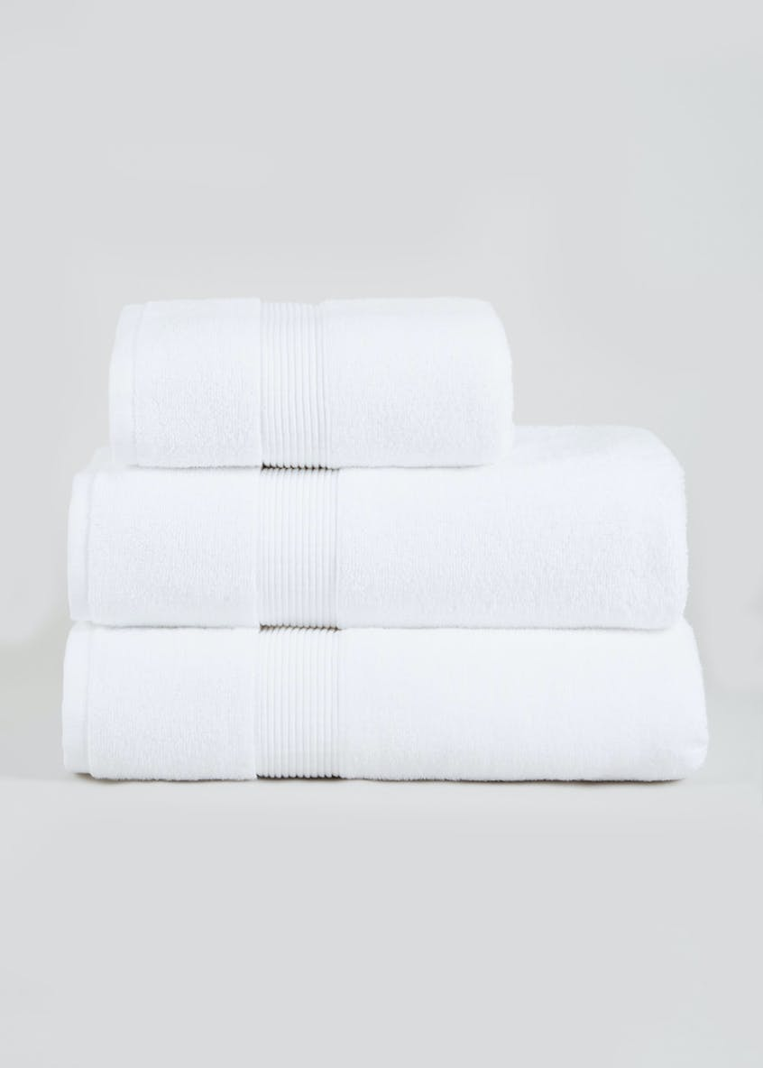 Silentnight 100% Cotton Stripe Towels