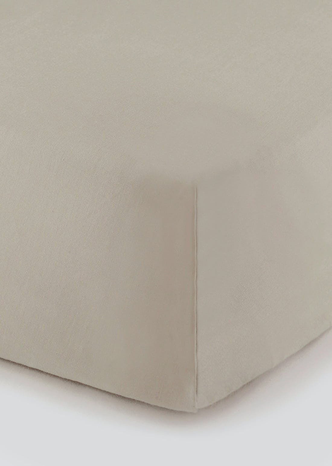 Cotton Rich Fitted Bed Sheet (180 Thread Count)