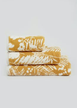 100% Cotton Palm Leaf Towels
