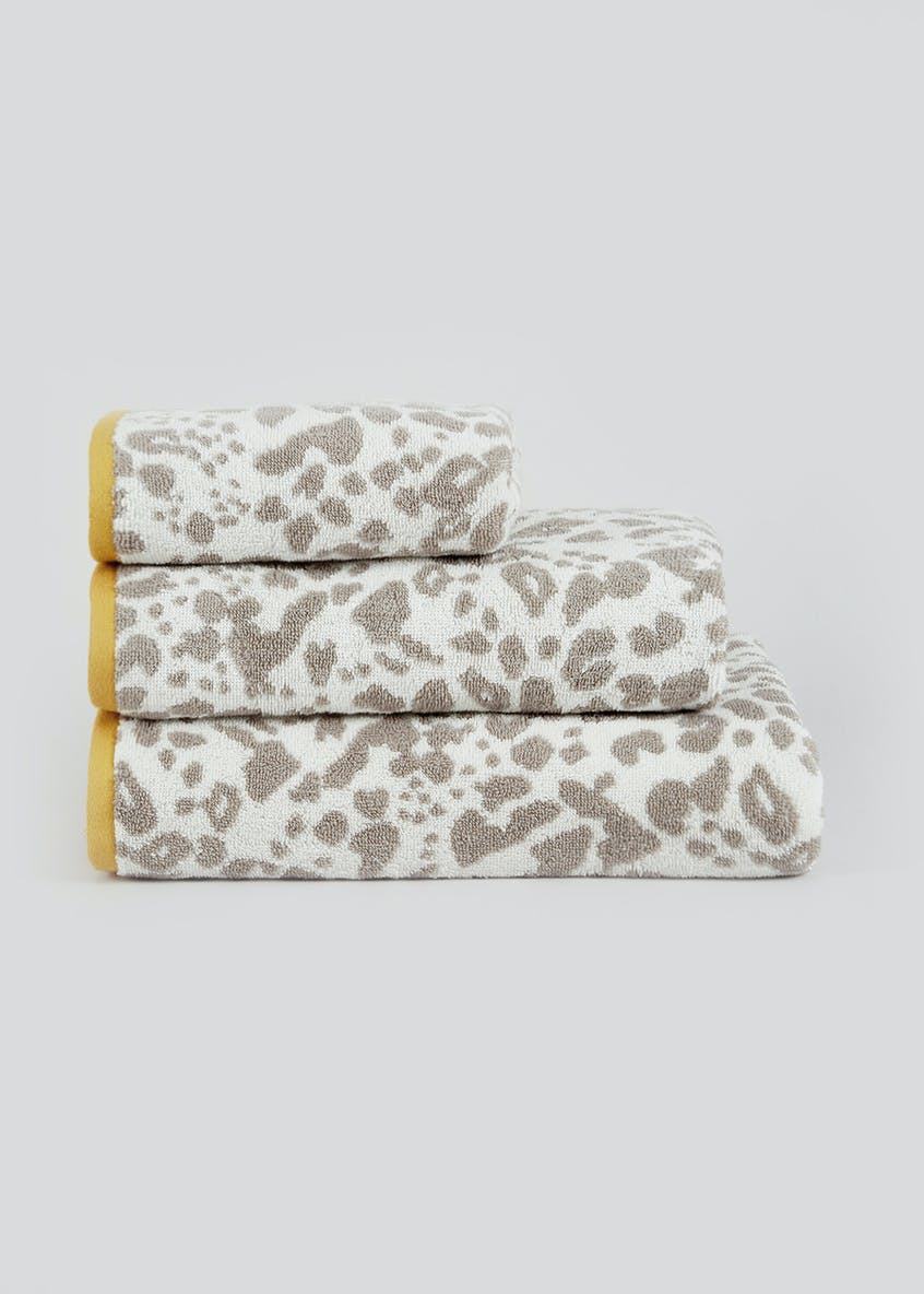 100% Cotton Animal Print Towels