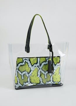 Julien Macdonald Perspex Bag
