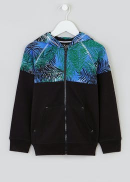 Boys Tropical Zip Through Hoodie (4-13yrs)