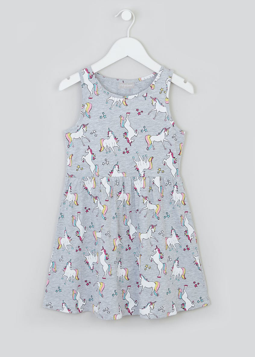 Girls Butterfly Dress (4-13yrs)