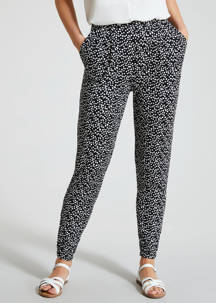 Polka Dot Harem Trousers
