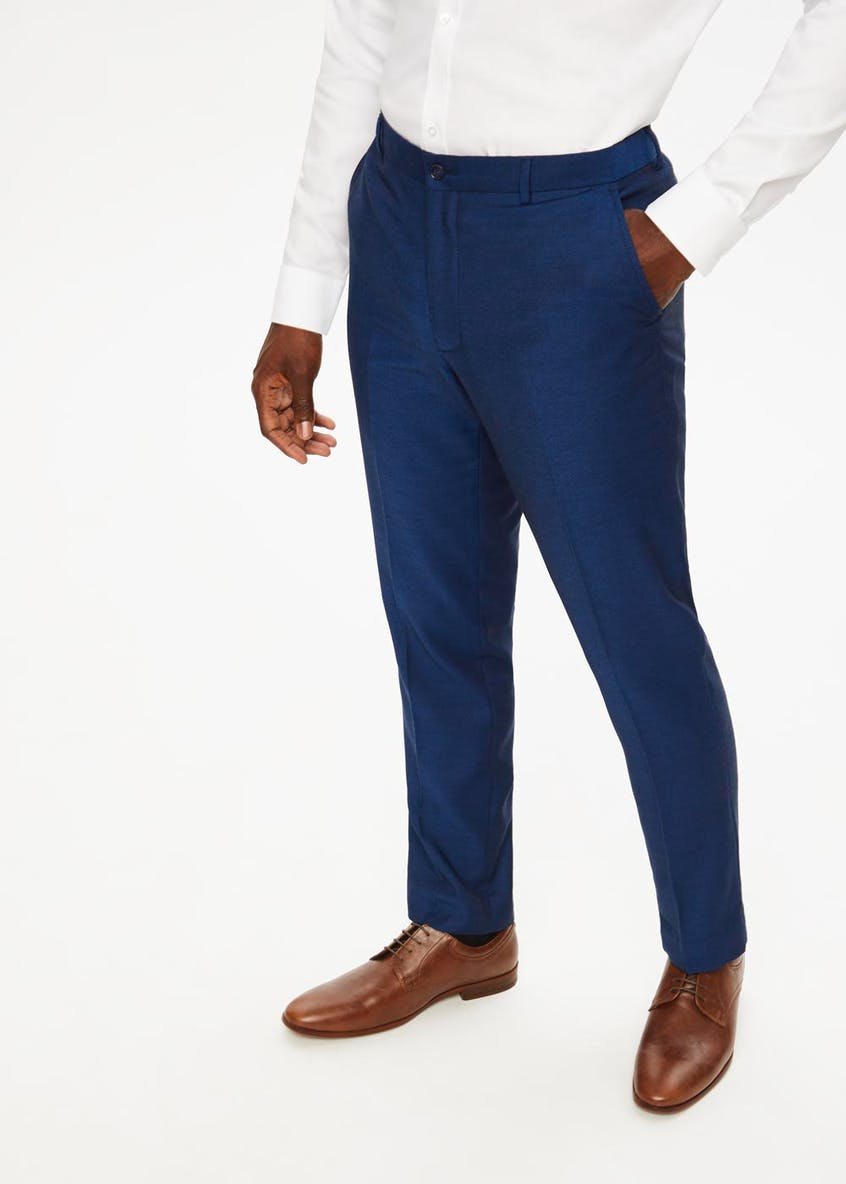 Newton Regular Fit Suit Trousers