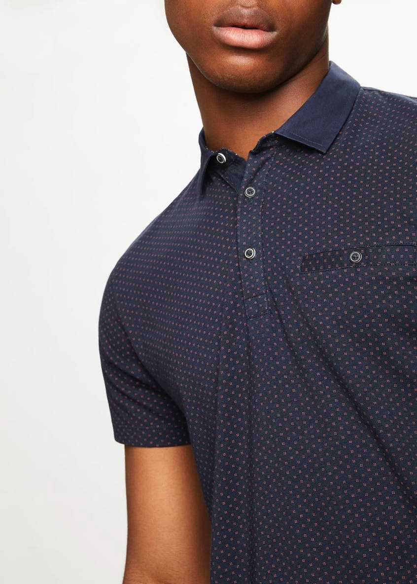 Smart Collar Polo Shirt
