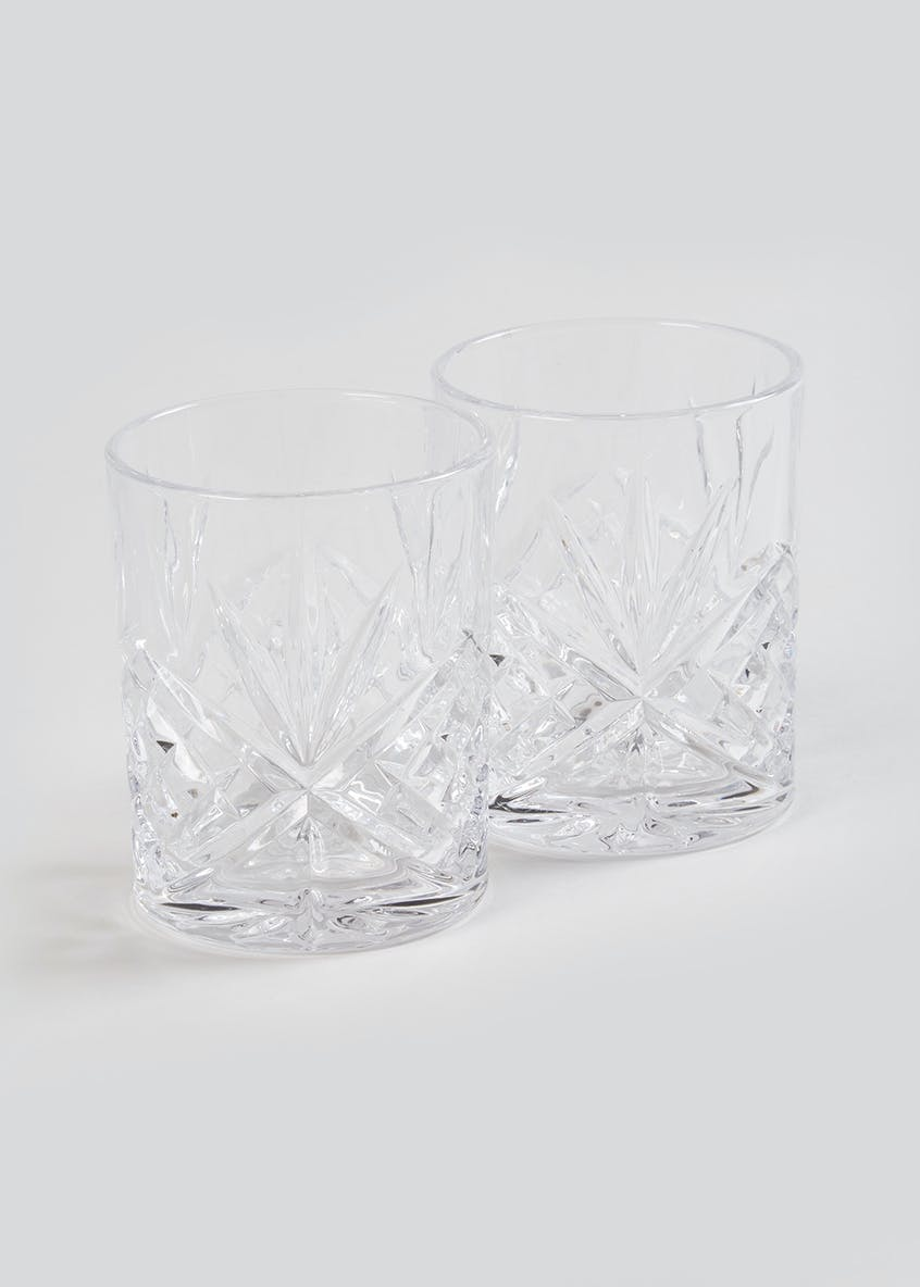 2 Pack Whiskey Glass Set