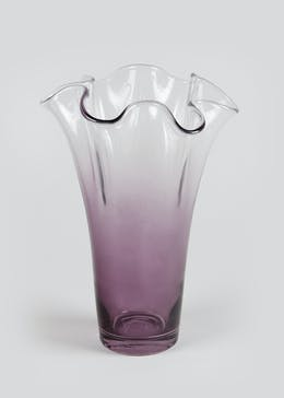 Ombre Fluted Vase