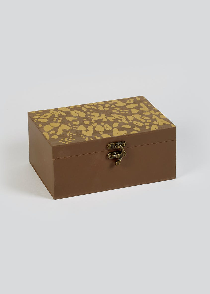 Animal Etched Decorative Box