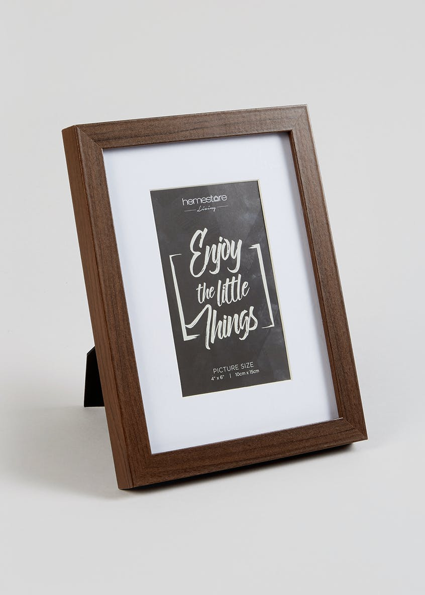 Wood Effect Photo Frame (15cm x 10cm)
