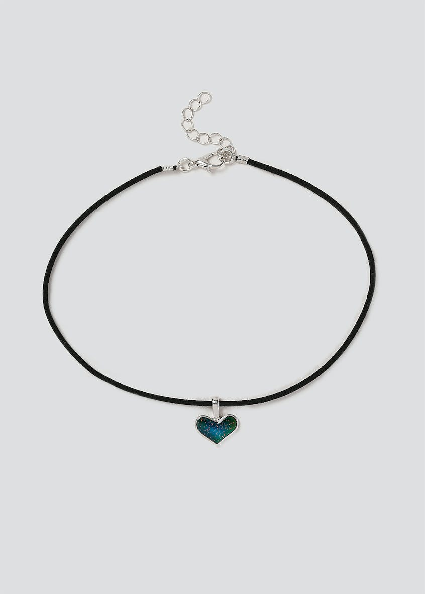 Girls Mood Changing Heart Choker