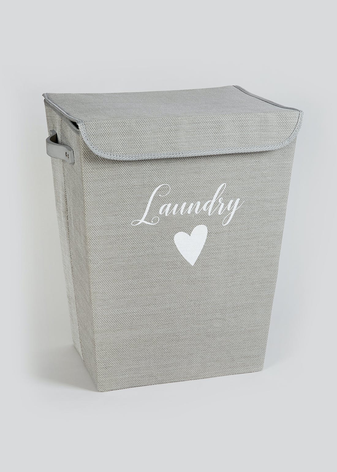 Fabric Laundry Basket (50cm x 40cm x 29cm)