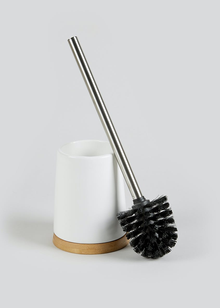 Bamboo Trim Toilet Brush (39cm x 10cm)