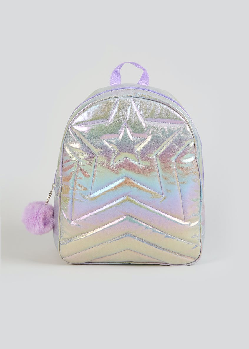 Kids Iridescent Star Backpack