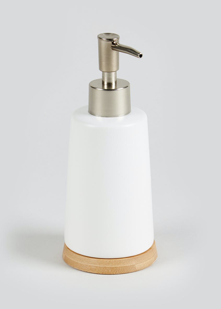 Bamboo Trim Soap Dispenser