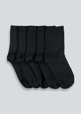 Kids 5 Pack Ankle Socks (Younger 6-Older 5.5)