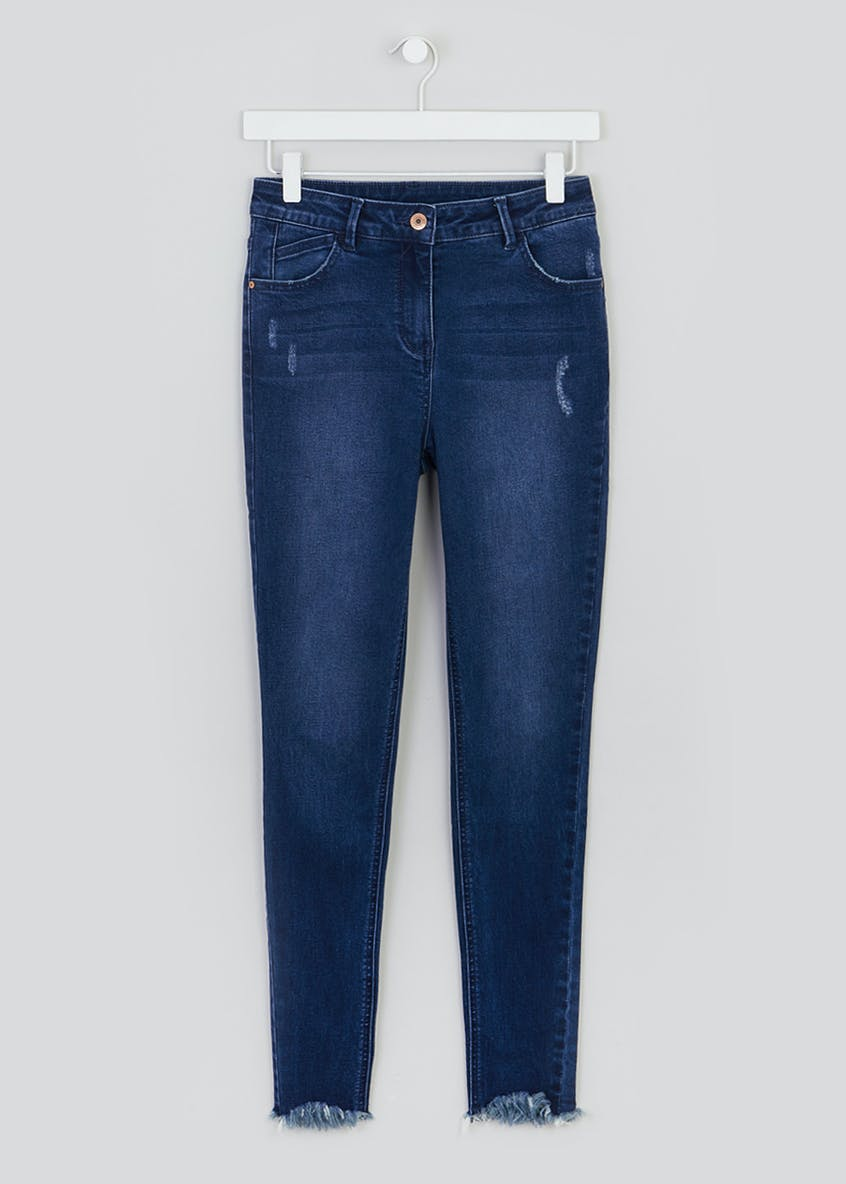 April Frayed Hem Super Skinny Jeans