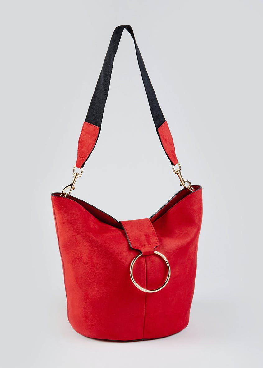 Ring Trim Slouch Bag