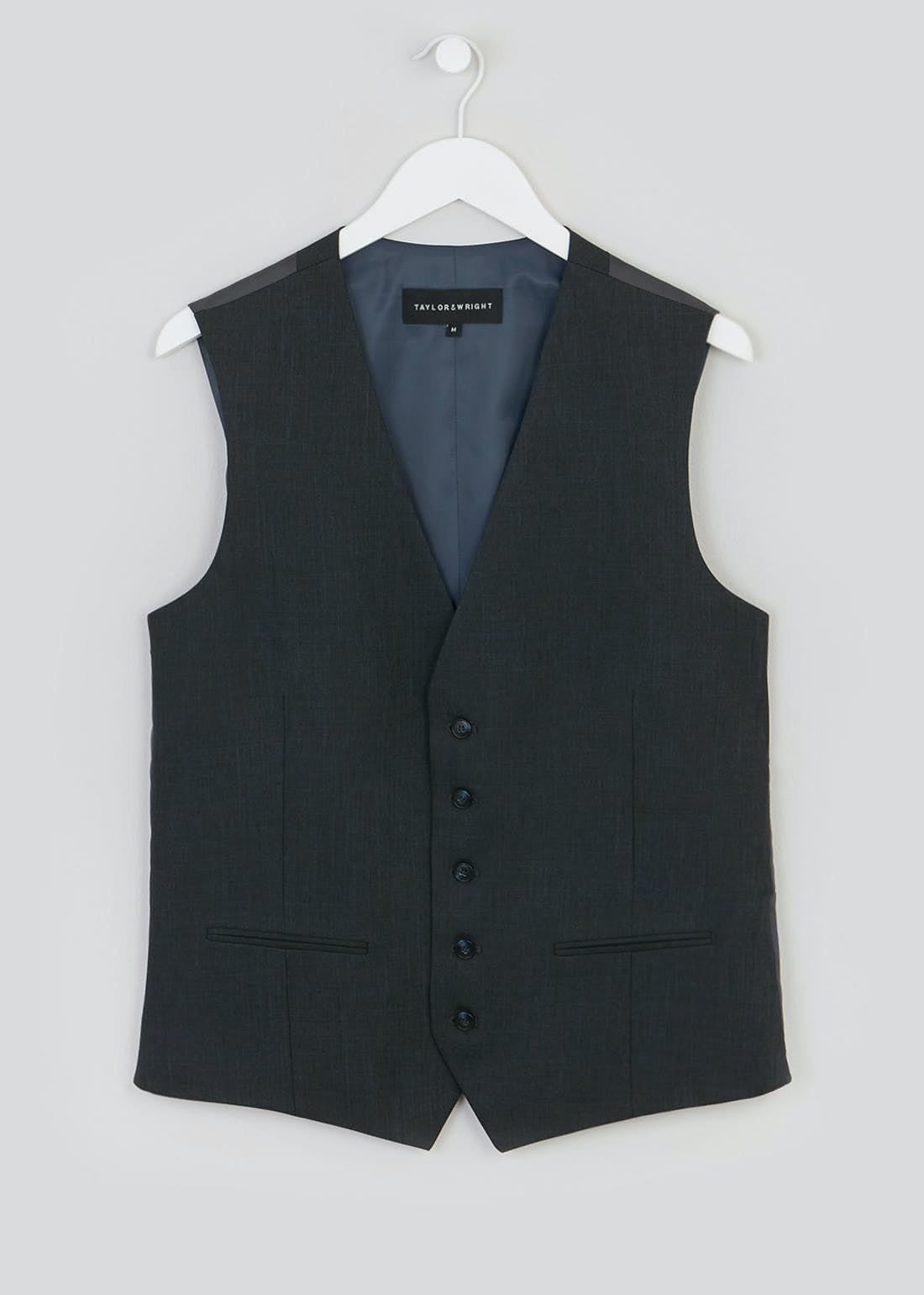 Taylor & Wright Hayes Regular Fit Suit Waistcoat
