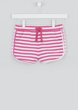 Girls Stripe Shorts (4-13yrs)
