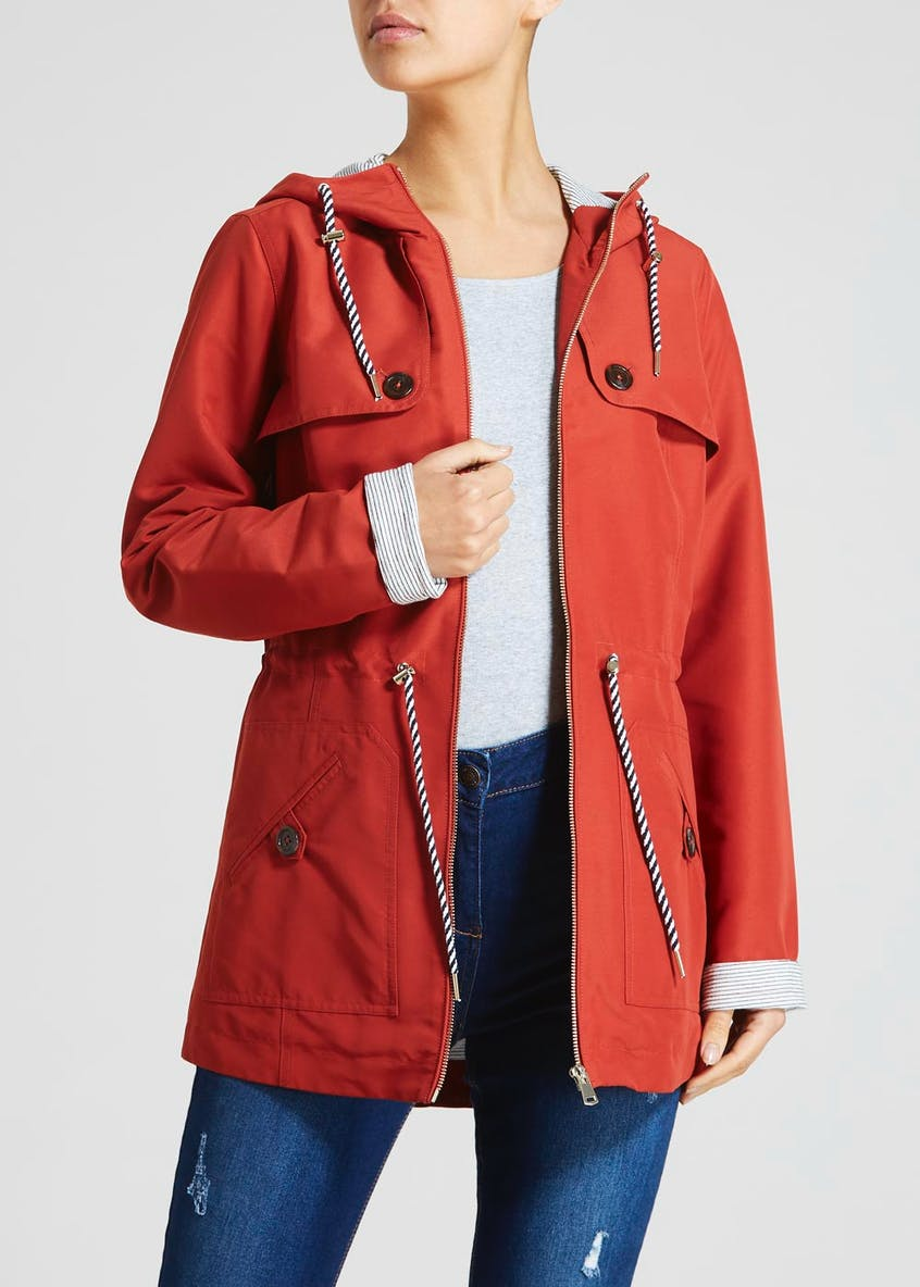 Hooded Preppy Jacket