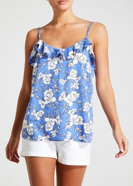 Floral Frill Cami