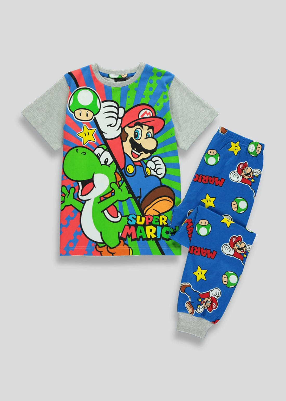 Kids Super Mario Pyjama Set (4-12yrs)