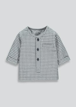 Unisex Check Woven Shirt (Newborn-18mths)