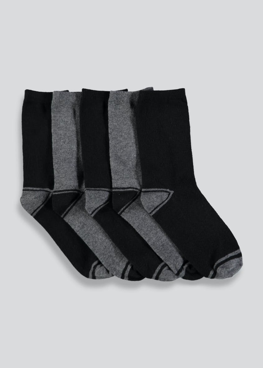 Boys 5 Pack Socks (Younger 6-Older Kids 6.5)
