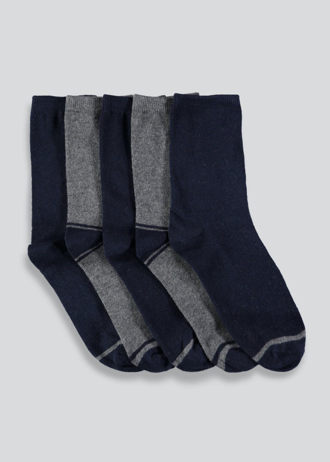 Boys 5 Pack Socks (Younger 6-Older 6.5)