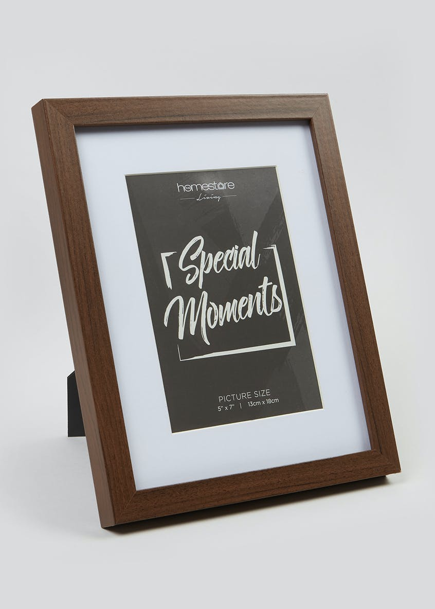 Wood Effect Photo Frame (18cm x 13cm)