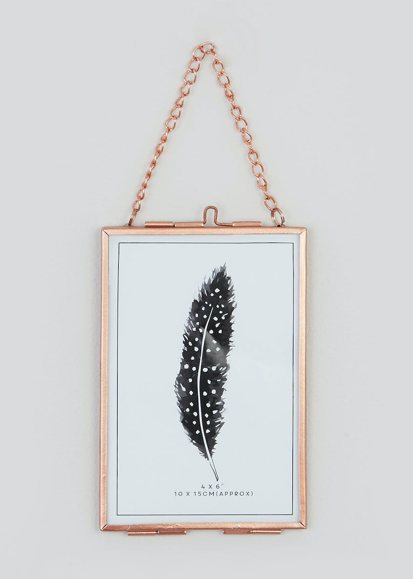 Small Hanging Metal Frame (16cm x 11cm)