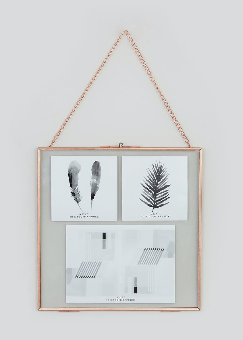 Large Hanging Metal Frame (26cm x 26cm)