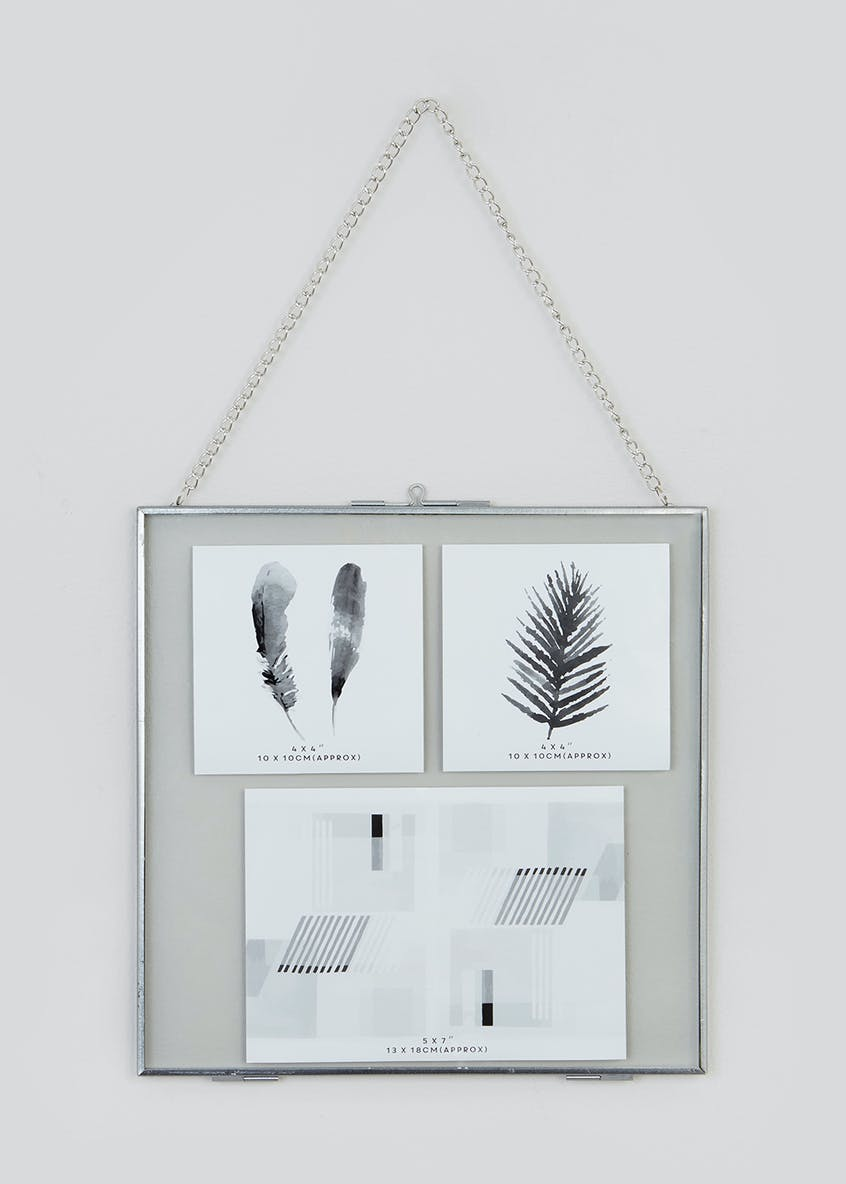 Large Hanging Metal Frame