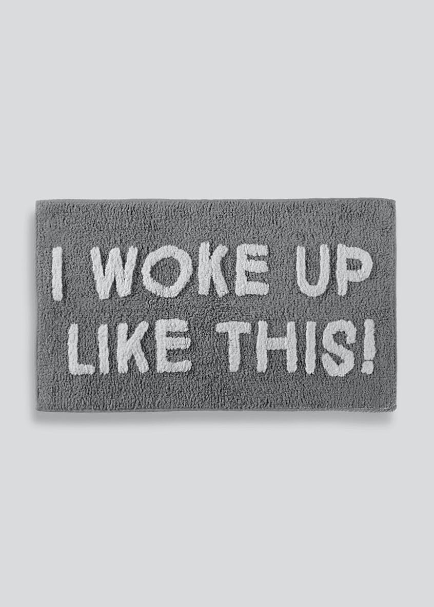 Slogan Bath Mat