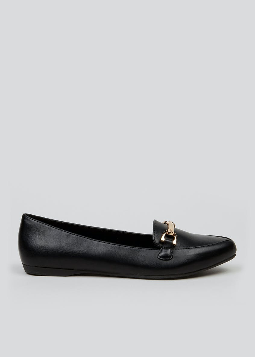 Almond Toe Snaffle Loafers