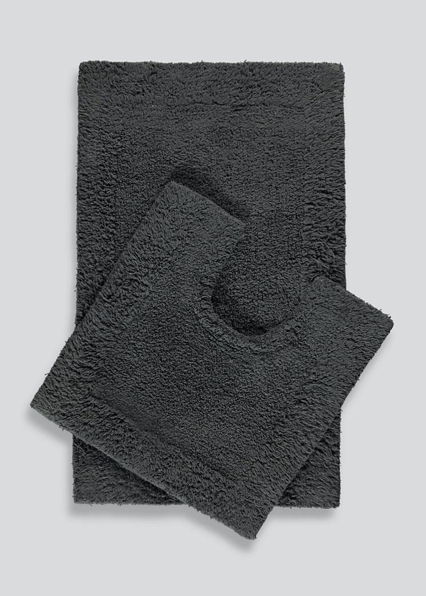 Bath Mat & Pedestal Set