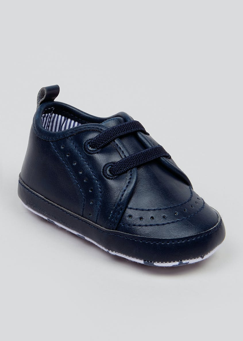 Unisex Soft Sole Brogue Baby Shoes (Newborn-18mths)