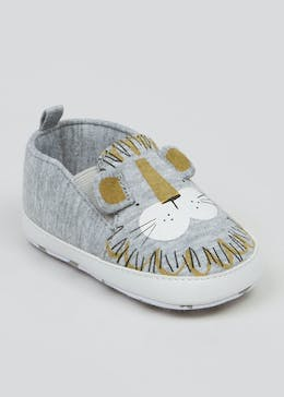 Unisex Soft Sole Lion Baby Shoes (Newborn-18mths)