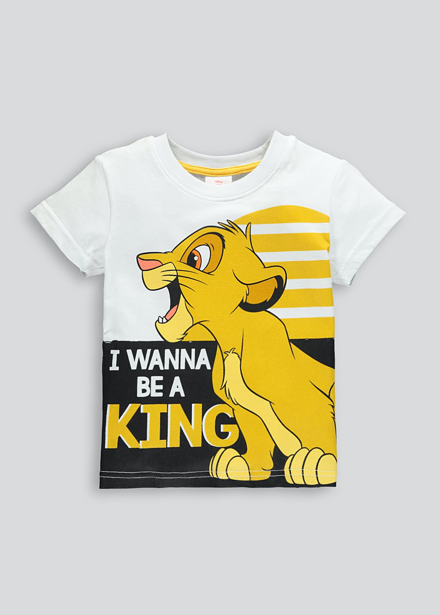 Kids Disney Lion King T-Shirt (18mths-7yrs)
