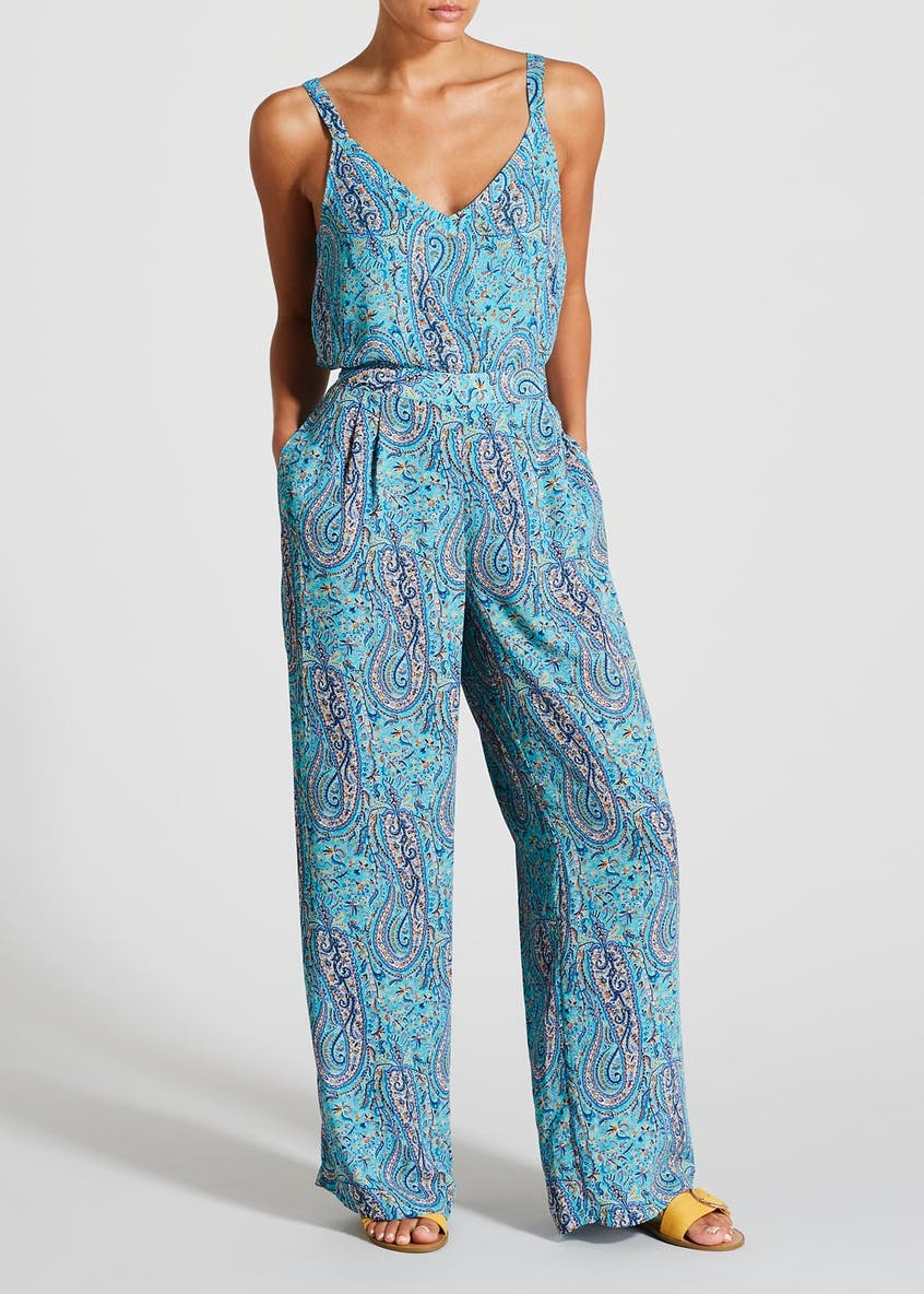 Paisley Scarf Print Co-Ord Cami