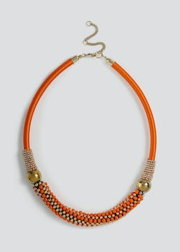 Seedbead Rope Necklace.