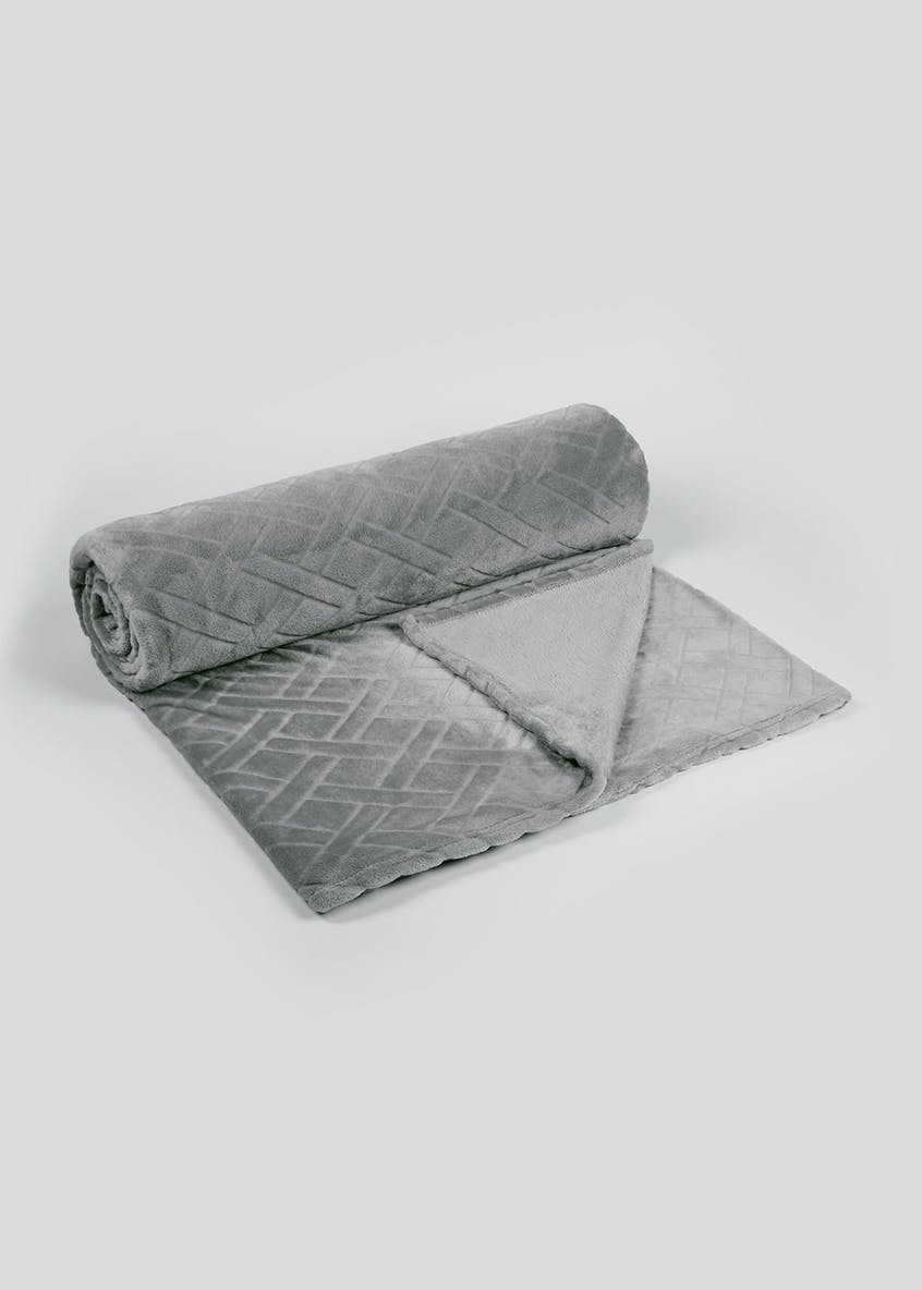 Embossed Throw Blanket (250cm x 200cm)